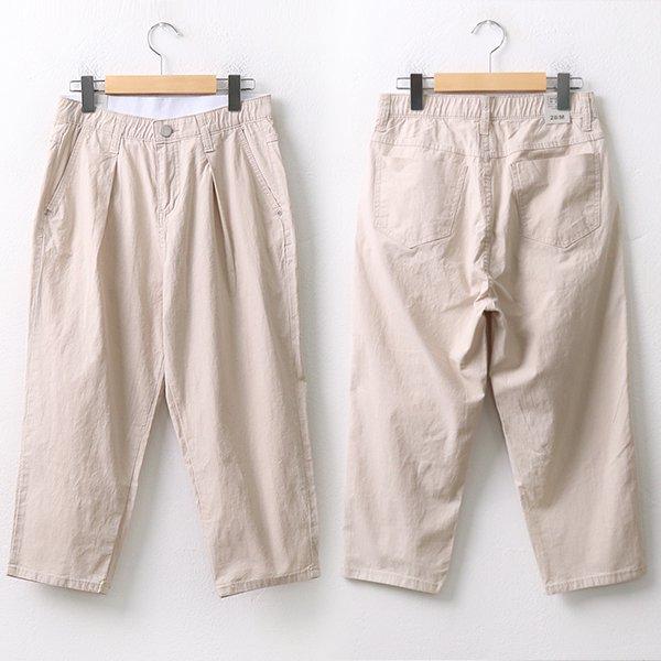 |007 주름8부밴딩배기팬츠 DMDA098 도매 배송대행 미시옷 임부복