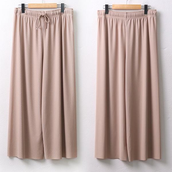 |007 플리츠끈스판통바지 DGYA126 도매 배송대행 미시옷 임부복