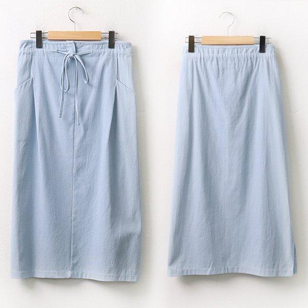007 사선포켓끈롱스커트 DAYA161 도매 배송대행 미시옷 임부복