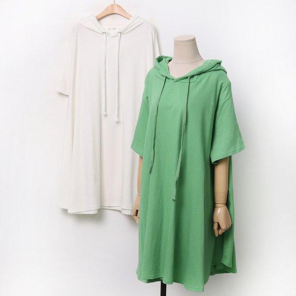 007 스트링후디롱플레어티 DRAA232 도매 배송대행 미시옷 임부복