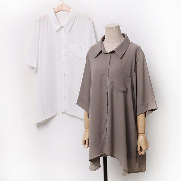 007 쉬폰언발플레블라우스 DBAA252 도매 배송대행 미시옷 임부복