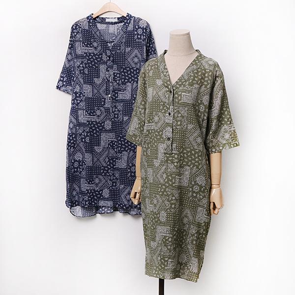 007 헨리페이즐셔츠원피스 DIRA256 도매 배송대행 미시옷 임부복