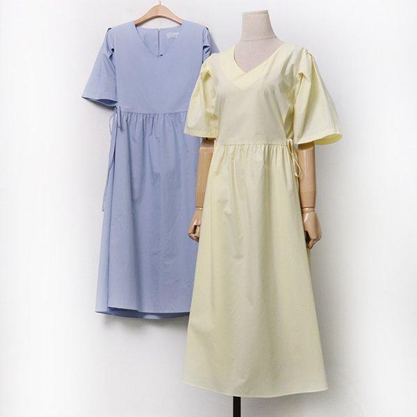 007 스트링플레어면원피스 DDLA276 도매 배송대행 미시옷 임부복