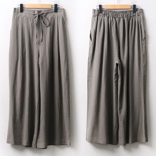 007 뒷밴딩더블와이드팬츠 DPEA279 도매 배송대행 미시옷 임부복