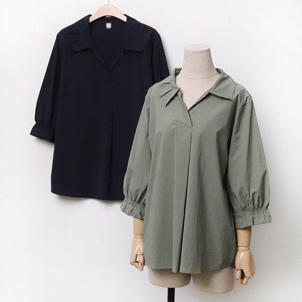 007 스모크쿨셔링블라우스 DOLA289 도매 배송대행 미시옷 임부복