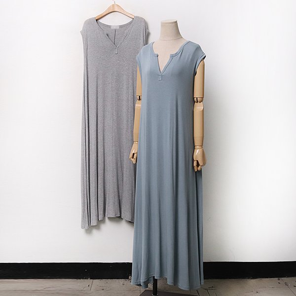 007 무지언발플레어원피스 DRAA292 도매 배송대행 미시옷 임부복