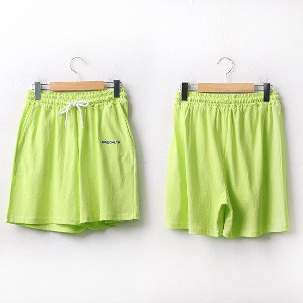 008 심플레터링밴딩반바지 DEZA299 도매 배송대행 미시옷 임부복