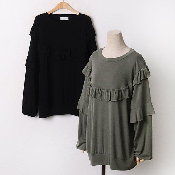 009 러블리프릴롱맨투맨티 DDLA777 도매 배송대행 미시옷 임부복