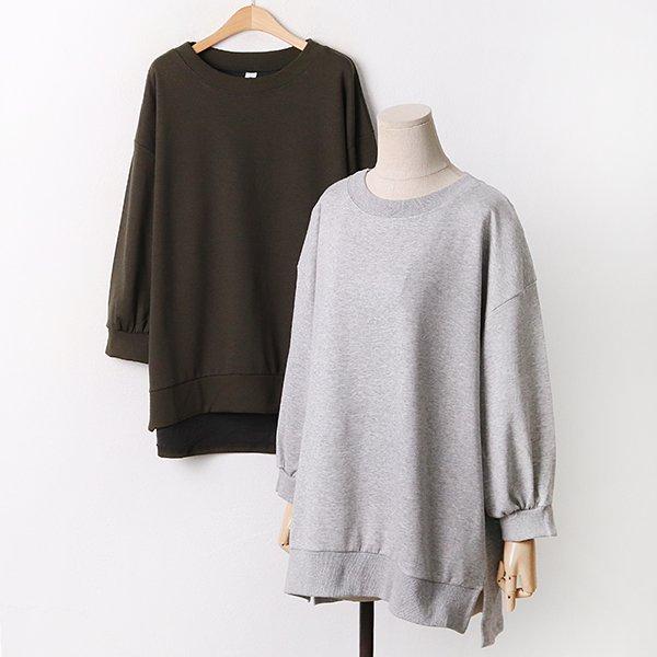 009 오버핏트임퍼프맨투맨 DGOA809 도매 배송대행 미시옷 임부복