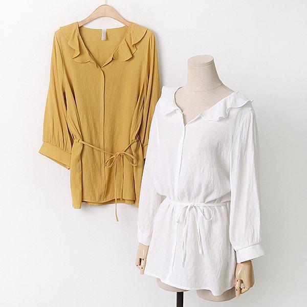009 숄카라스트링블라우스 DGYA826 도매 배송대행 미시옷 임부복