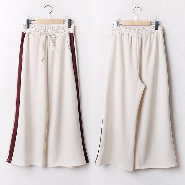 009 쿠셔닝라인배색통팬츠 DEZA829 도매 배송대행 미시옷 임부복