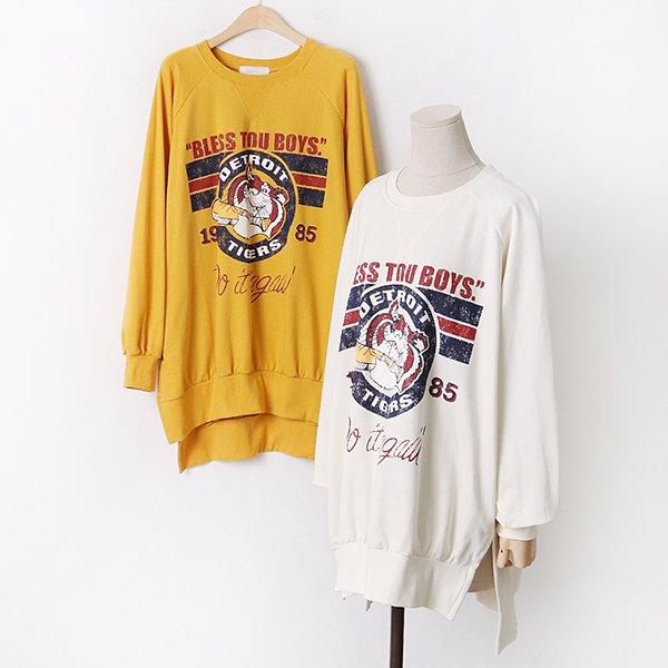 009 타이거나그랑맨투맨티 DKYA832 도매 배송대행 미시옷 임부복