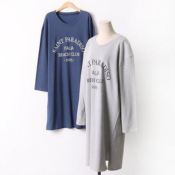 009 루트일자동글원피스 DEBA835 도매 배송대행 미시옷 임부복