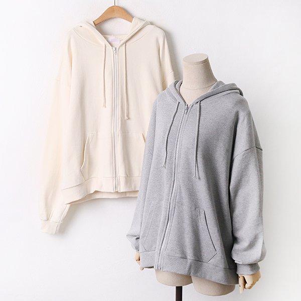 009 심플3단쭈리후드집업 DCHA848 도매 배송대행 미시옷 임부복