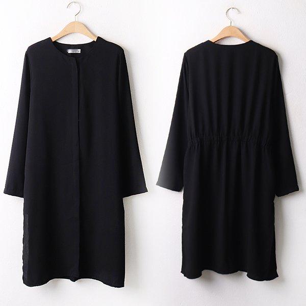 009 심플퀄오버롱블라우스 DBGA859 도매 배송대행 미시옷 임부복