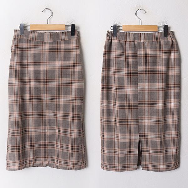 010 클래식체크롱스커트 DMOA989 도매 배송대행 미시옷 임부복