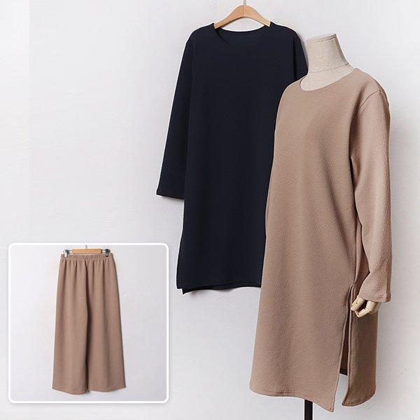 010 엠보루즈밴딩바지세트 DYBB309 도매 배송대행 미시옷 임부복