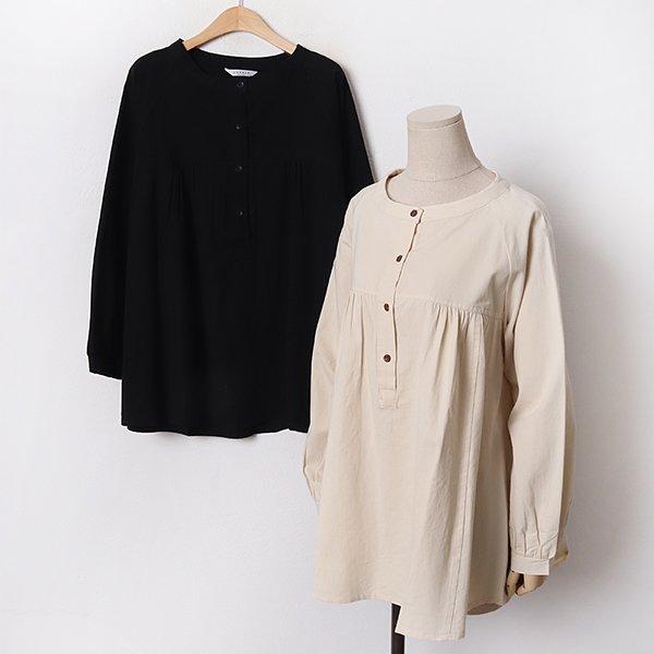 011 퓨어절개셔링블라우스 DLYB476 도매 배송대행 미시옷 임부복