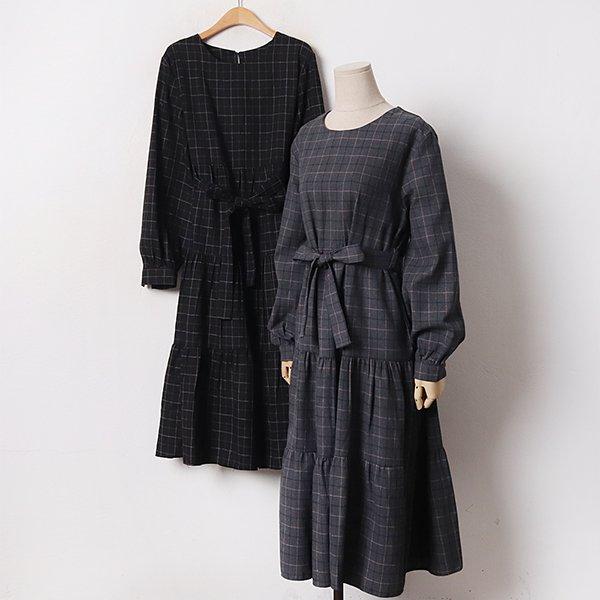 011 트리캉캉플레어원피스 DCRB507 도매 배송대행 미시옷 임부복
