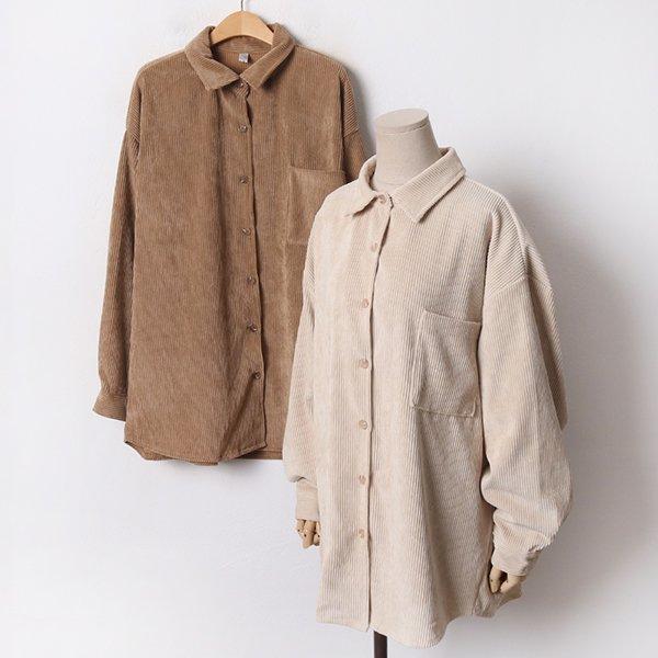 011 클래식고리골덴롱남방 DSMB530 도매 배송대행 미시옷 임부복