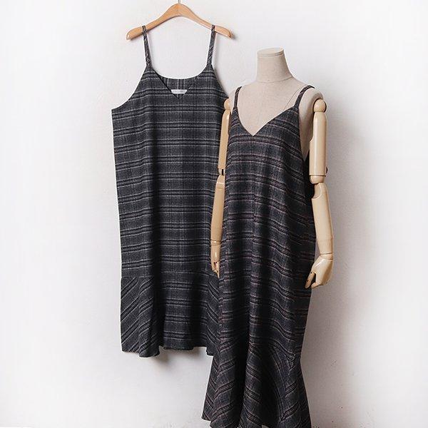 012 글램체크브이넥원피스 DLTB670 도매 배송대행 미시옷 임부복