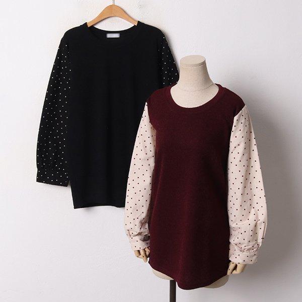 001 러블리하트루즈핏니트 DRIB681 도매 배송대행 미시옷 임부복