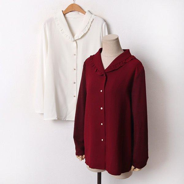 001 칸나프릴쉬폰블라우스 DBGB684 도매 배송대행 미시옷 임부복