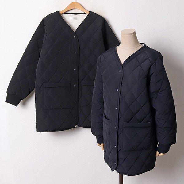 001 크라운오버핏누빔패딩 DGYB688 도매 배송대행 미시옷 임부복