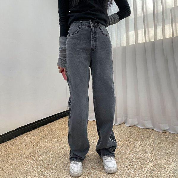 102 시크무드컷팅데님팬츠 DDOB901 도매 배송대행 미시옷 임부복