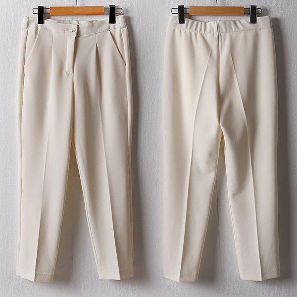 102 모던스판밴딩일자팬츠 DSNB916 도매 배송대행 미시옷 임부복