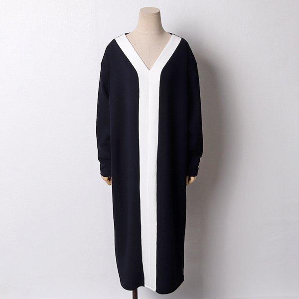 102 세련와이넥오버원피스 DYBB927 도매 배송대행 미시옷 임부복