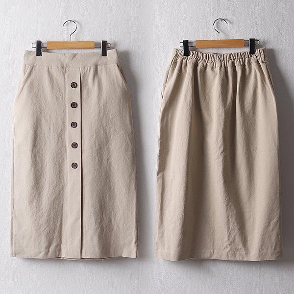 102 클래식페이크밴딩치마 DPEB928 도매 배송대행 미시옷 임부복