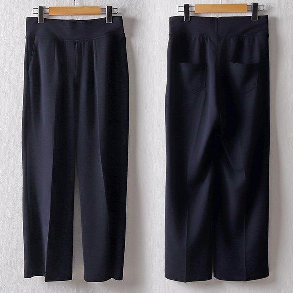 102 무지밴딩스판일자바지 DSNB931 도매 배송대행 미시옷 임부복