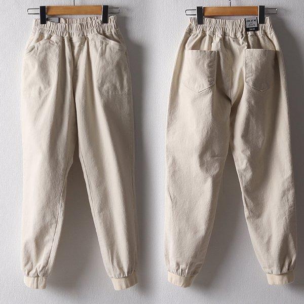 102 도톰스판데님조거팬츠 DLOB969 도매 배송대행 미시옷 임부복