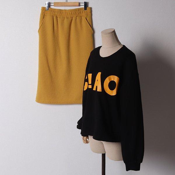 103 C!AO스토퍼스커트세트 DDLB973 도매 배송대행 미시옷 임부복