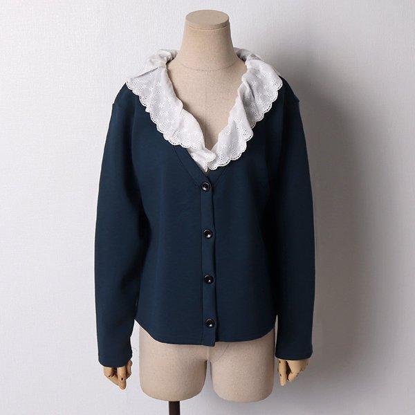 103 앤틱자수레이스가디건 DNNB982 도매 배송대행 미시옷 임부복