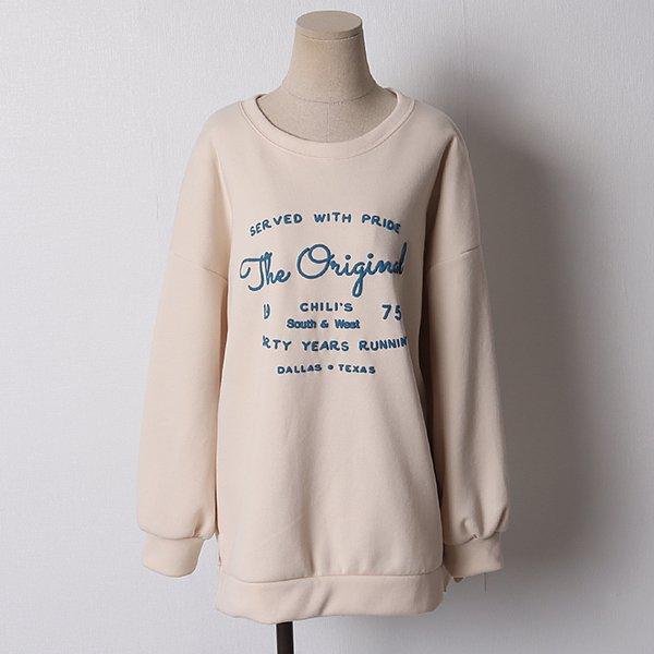 103 포근한나염오버맨투맨 DSMB991 도매 배송대행 미시옷 임부복
