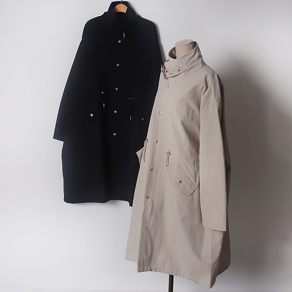 103 무지하이넥오버핏야상 DLYD049 도매 배송대행 미시옷 임부복