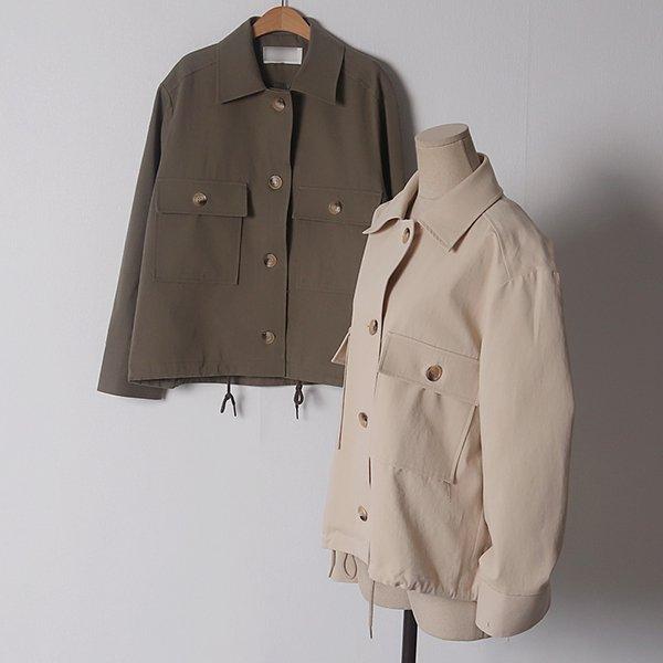 103 우드트임커프오버자켓 DPED077 도매 배송대행 미시옷 임부복