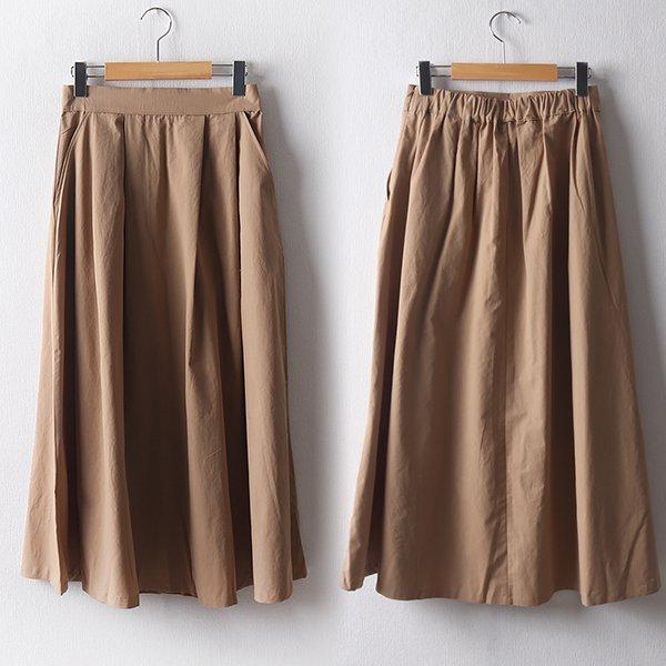 103 심플뒷밴딩플레어치마 DMDD108 도매 배송대행 미시옷 임부복