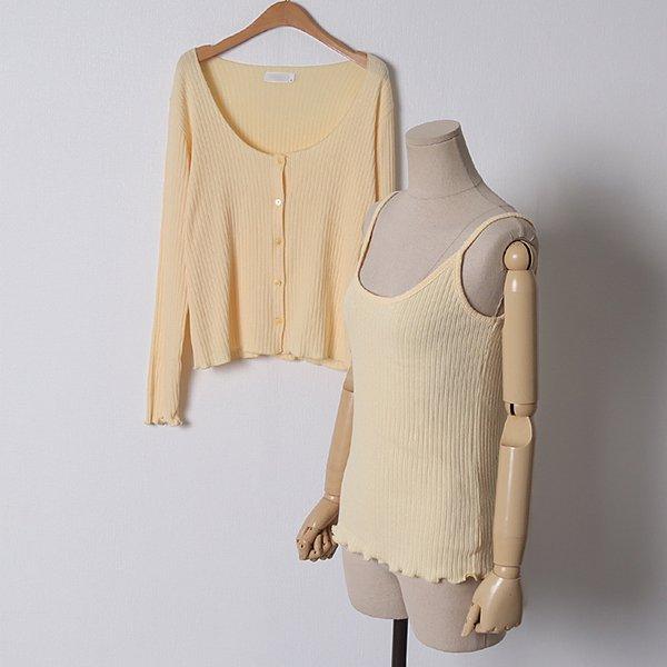 103 러블리골지가디건세트 DDLD114 도매 배송대행 미시옷 임부복