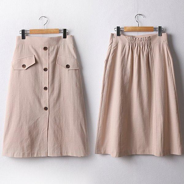 103 내추럴밴딩롱A스커트 DPED168 도매 배송대행 미시옷 임부복