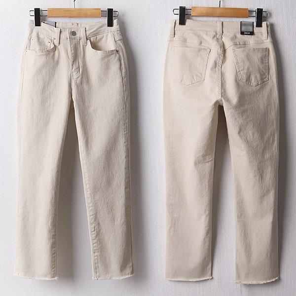 103 슬림스판컷팅일자팬츠 DLOD169 도매 배송대행 미시옷 임부복