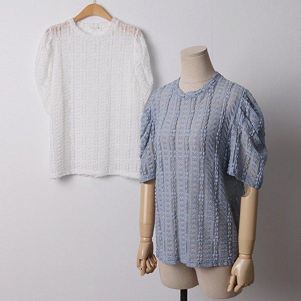 104 보니셔링레이스반팔티 DMOD176 도매 배송대행 미시옷 임부복