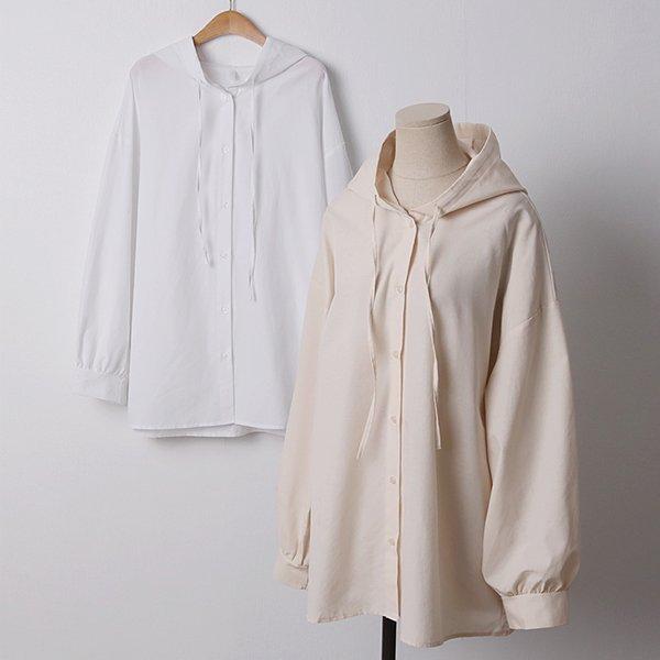 104 라일락오버끈후드남방 DLTD179 도매 배송대행 미시옷 임부복