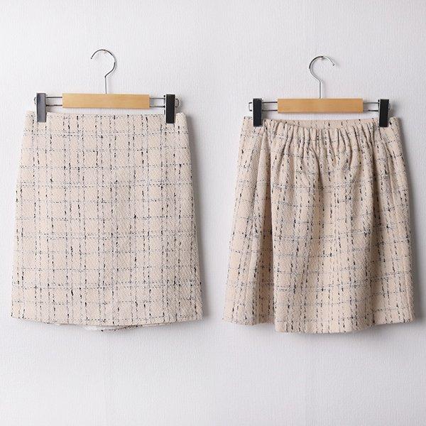 103 파우더체크미니스커트 DLTD187 도매 배송대행 미시옷 임부복