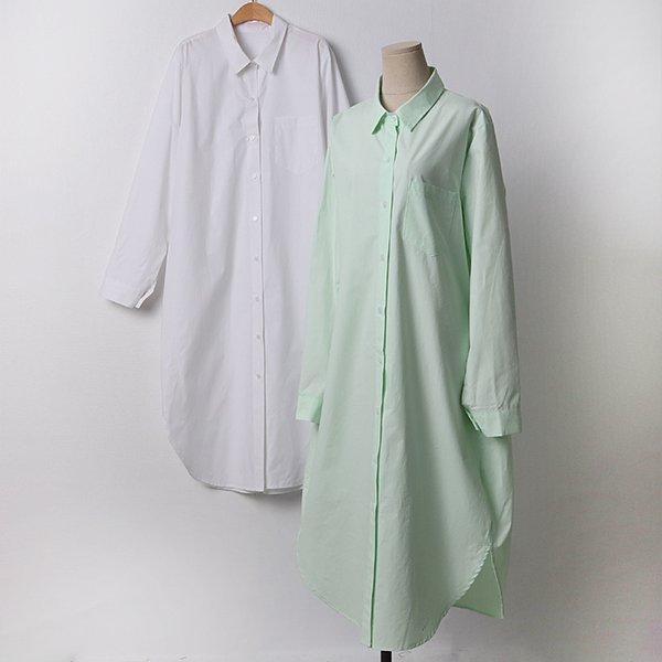 103 보이프렌드오버롱셔츠 DCHD194 도매 배송대행 미시옷 임부복