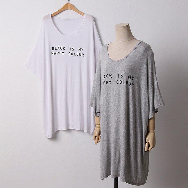 104 해피띵스실키오버반팔 DRAD204 도매 배송대행 미시옷 임부복