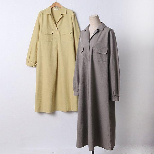 104 플라밍고셔링롱원피스 DLYD210 도매 배송대행 미시옷 임부복