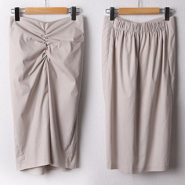 104 바닐라트임밴딩스커트 DLTD215 도매 배송대행 미시옷 임부복